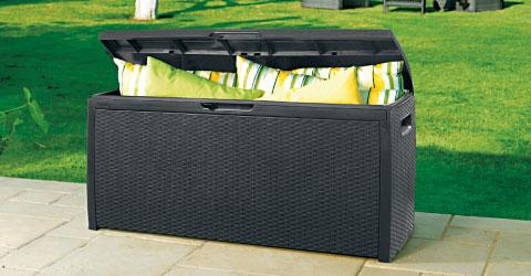 Geliefde Opbergbox voor Tuin kussens en Lounge Kussens , makkelijk en droog... ZP68